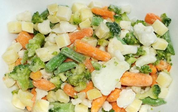 Mrożona mieszanka warzyw