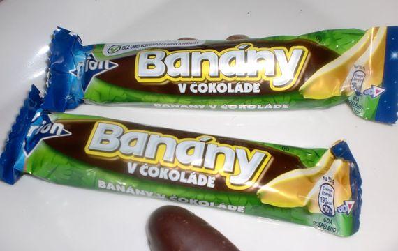 Banan w czekoladzie